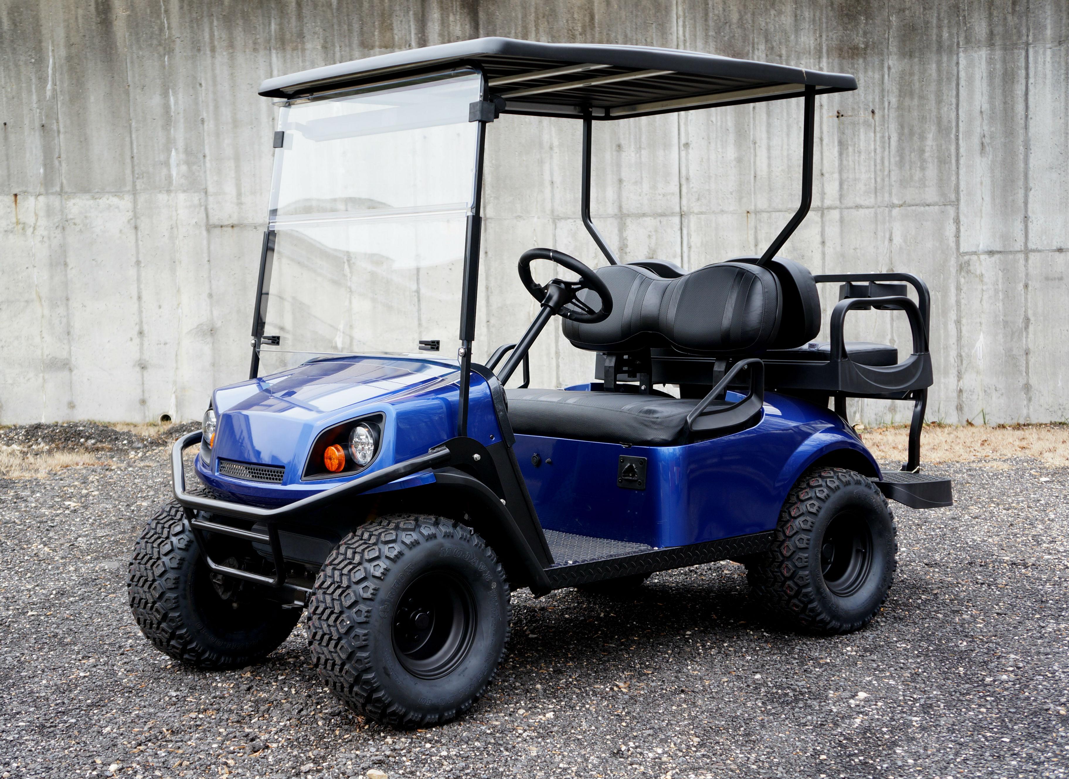 Rv golf cart lift the best cart for Golf cart motor repair